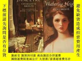 二手書博民逛書店【英文原版】Jane罕見Eyre 簡愛 Wuthering Heights 呼嘯山莊(2本合售)Y172061