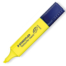 【奇奇文具】STAEDTLER MS364-1 黃色噴墨螢光筆