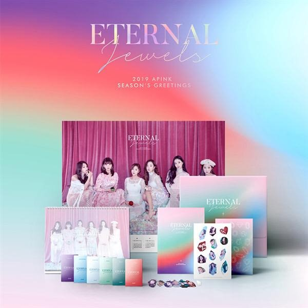 Apink 2019 SEASON'S GREETINGS 年曆組合  [ETERNAL JEWELS]