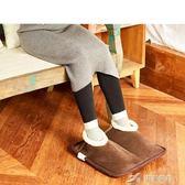 暖水袋 暖腳寶可拆洗暖鞋暖腳器發熱電熱暖腳墊加熱坐墊暖墊插電式 樂芙美鞋