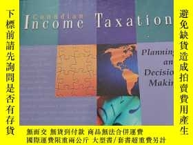 二手書博民逛書店Canadian罕見Income Taxation : Plan