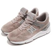 New Balance 慢跑鞋 NB X90 灰 銀 Return To Future 麂皮鞋面 全新鞋款 運動鞋 女鞋【PUMP306】 WSX90PLAB