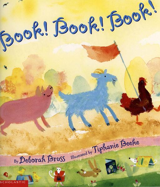 【麥克書店】BOOK! BOOK! BOOK!/ 平裝繪本《主題: 上學去 Goes to School》