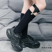 中筒襪瘦腿潮日系小腿襪扣長筒襪薄款制服襪夾【時尚大衣櫥】