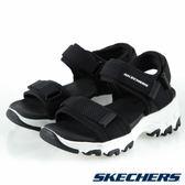 SKECHERS D'LITES 黑色 涼鞋 中大童 NO.Y1391