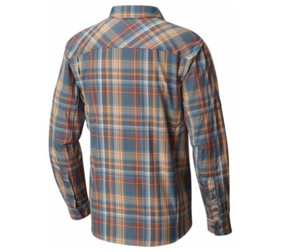 【Columbia】哥倫比亞 男款-長袖防曬30快排襯衫-AE7441