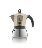 【等一個人咖啡】Bialetti電火(DAMA)摩卡壺3杯份-迷霧金