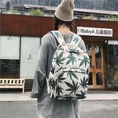 後背包雙肩包女韓版大學生校園森系風帆布包書包超火古著背包-大小姐韓風館