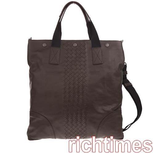 【裕代 BOTTEGA VENETA】深棕編織手提斜背包BV0C1450