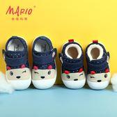 學步鞋寶寶鞋子女1-3歲男嬰兒鞋子軟底2018秋款小童鞋機能鞋冬季  莉卡嚴選