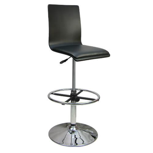 邏爵家具~020B0X 炫感高背曲木高腳皮革事務椅/電腦椅/吧台椅(三色)