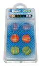 自強牌  MS250  彩色圓型玻璃磁鐵(一打裝)