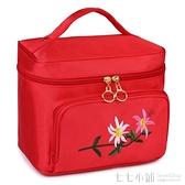 多功能大容量旅行四方包 手提式韓國化妝包女士化妝包