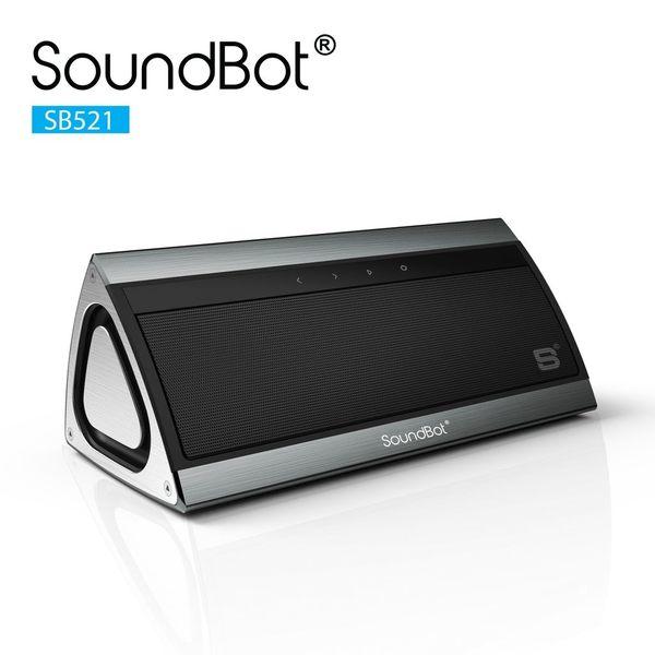 美國聲霸SoundBot SB521 觸控式3D立體環繞重低音藍牙喇叭 + 高質感金屬外觀