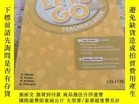 二手書博民逛書店Let s罕見Go: 2: Teacher s Book With Test Center Pack Ritzuk