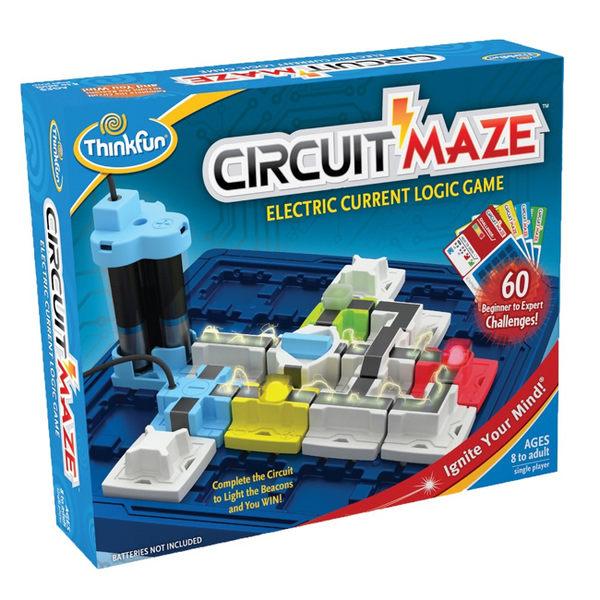 【美國 Thinkfun】迷你發電廠 Circuit Maze 桌上遊戲