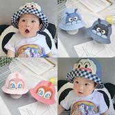 帽子 兒童 麵包超人 寶寶 遮陽 盆帽 兩面 細菌人 漁夫帽 BW