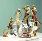 歐式人物擺件家居客廳擺件情侶禮品生日禮物結婚禮物酒櫃裝飾品ADHI款