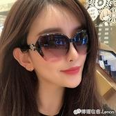 復古新款太陽鏡韓版女網紅墨鏡gm潮流太陽鏡女防紫外線INS 檸檬衣舍