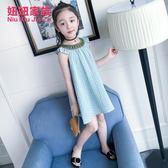 童裝女2018新款正韓公主裙女童夏裝洋氣連衣裙女大童夏季時尚裙子
