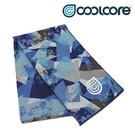 COOLCORE CHILL SPORT 涼感運動巾 冰藍迷彩 ICE CAMO (涼感運動毛巾、降溫、運動、運動巾)