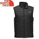 【The North Face 美國 男款ThermoBall 背心《黑》】365Z/防風/暖魔球/輕量★滿額送