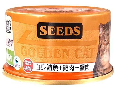 *WANG*《24罐賣場》惜時SEEDS GOLDEN CAT【特級金貓黃金貓罐/80g】