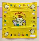 【震撼精品百貨】Pom Pom Purin 布丁狗~三麗鷗布丁狗日本手帕/方巾-黃#87982