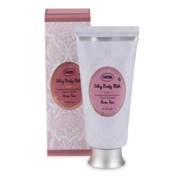 【南紡購物中心】SABON  玫瑰茶語絲綢身體乳液 200ml