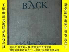 二手書博民逛書店the罕見road back《迴歸之路》(1931年倫敦本,廉紋