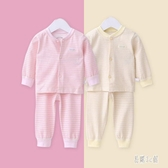嬰兒春秋衣服褲子兩件式套裝新生嬰兒純棉睡衣 CJ2684『易購3c館』
