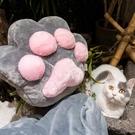 【限時下殺89折】貓爪抱枕被子兩用辦公室午睡毯子靠墊汽車多功能個性可愛枕頭女被