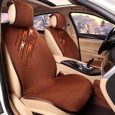 天天新品汽車坐墊冬季短毛絨保暖防滑座墊冬款棉絨毛墊免捆綁通用汽車座套