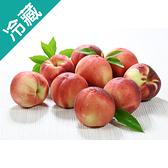 美國加州水蜜桃/箱(約10~12粒)【愛買冷藏】