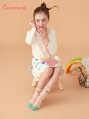 caramella秋冬嬰兒襪子純棉男女童襪兒童中筒襪地板襪寶寶襪子 完美計畫