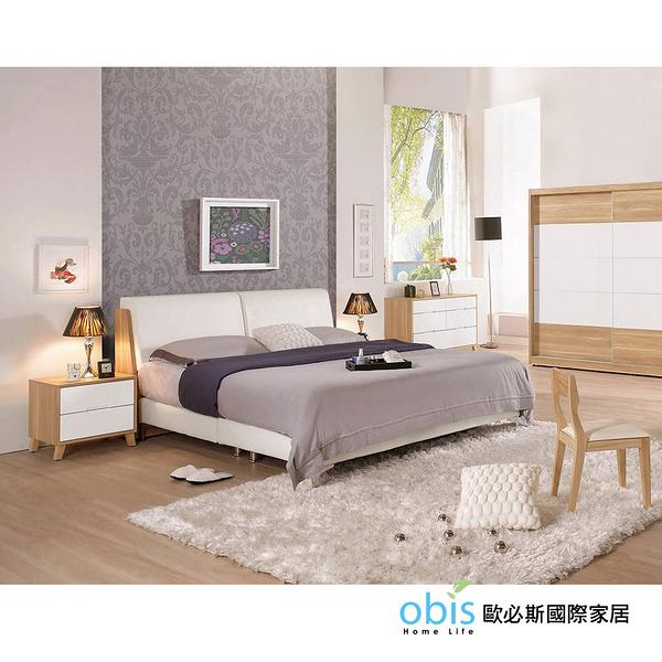 OB003-羅德尼6尺雙人床(19CM/613-1)【DD House】