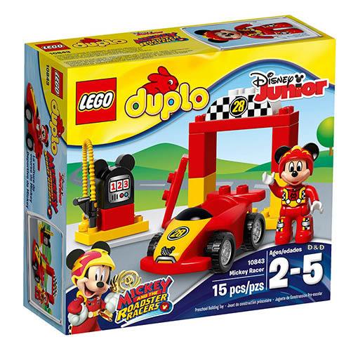 樂高積木 LEGO《 LT10843 》Duplo 得寶系列 - 米奇賽車╭★ JOYBUS玩具百貨