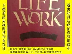 二手書博民逛書店美國桂冠詩人罕見唐納德.霍爾回憶錄 Life Work by D