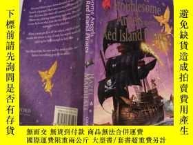 二手書博民逛書店troublesome罕見angels and the red island pirates 麻煩天使和紅島海盜