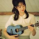 ins風!柏聆單板尤克里里女生款初學者男小吉他兒童烏克麗麗ukule