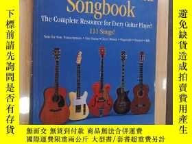二手書博民逛書店The罕見Incredible Guitar Songbook 不可思議的吉他歌曲集(英文原版)Y19246