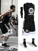 球衣籃球服套裝男女學生球衣比賽運動訓練隊服背心大碼團購印字 非凡小鋪
