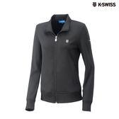 K-SWISS Retro Jacket運動外套-女-黑