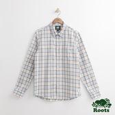 Roots 男裝 - ROOTS 肯若拉長袖格紋襯衫 - 藍色