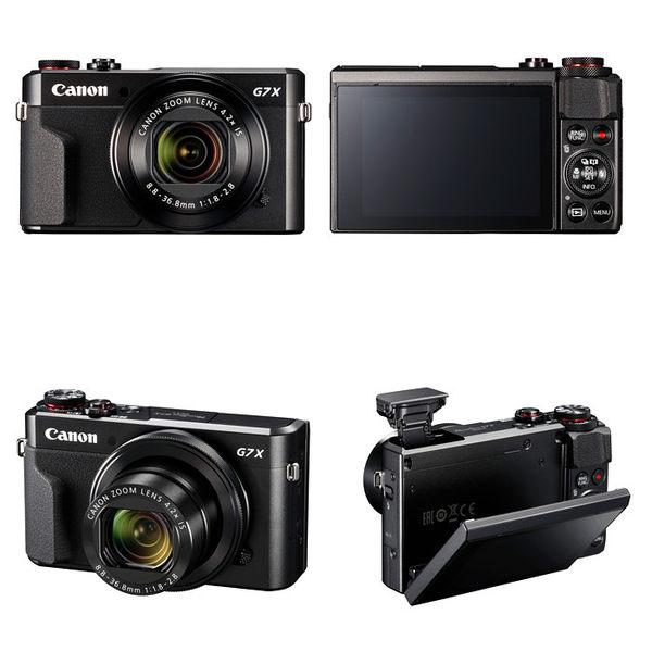 ★相機王★Canon PowerShot G7X Mark II 公司貨 登錄送電池 5/31止