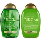 美國Ogx竹萃精華有機洗髮乳*2+潤髮乳*1瓶共(13oz/385ml)*3瓶