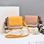 網紅小方包2020新款時尚韓版單肩包INS超火包包少女百搭斜挎包包 (橙子精品)