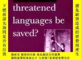 二手書博民逛書店Can罕見Threatened Languages Be Saved?Y255562 Fishman, Jos