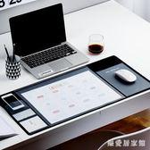 電腦辦公室學習防水寫字桌墊書桌墊創意家用鼠標墊超大號 QG7169『樂愛居家館』