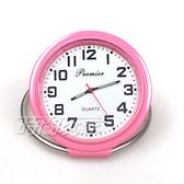 DBS 繽紛色彩 造型迷你小桌鐘 創意桌面小時鐘 數字時刻 擺飾 P0602粉